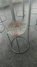 求购二手餐桌凳子,,1.2X0.4X1.5米货架,