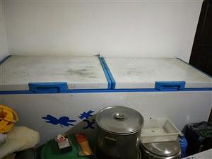 两米大冰柜用不着处理了,1200元拉走
