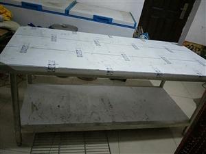 加厚全新不锈钢案板置物架,1.8*0.80米,便宜出理了!