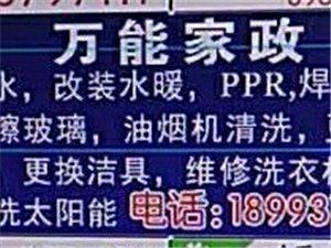 万能家政服务公司