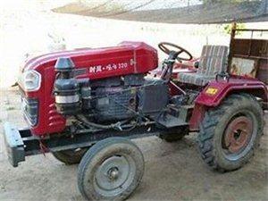 農用四輪32馬力 帶播種斗 滅茬機