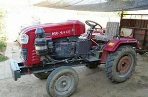 农用四轮32马力 带播种斗 灭茬机