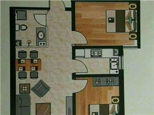 温泉花园2室2厅1卫49万元