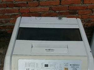 威力全自动洗衣机八成新250不议价