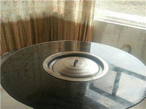 处理1.4米钢化玻璃面柴火地锅两台(1200一台)