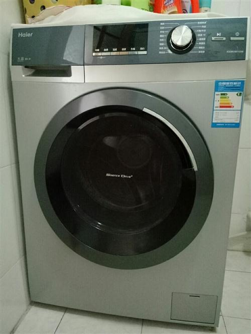 海尔洗衣机,八成新