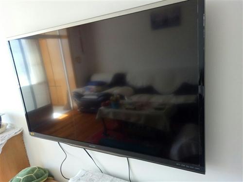 52寸夏普电视机,原装面板,八九成新,可联网选台看节目,原价七千,现价三千