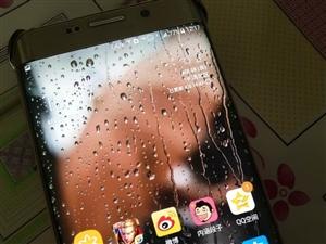 自己用的手机,三星s6 edge+金色,32g内存,7.0系统,边框轻微掉漆,国行双卡 三网通,没有...