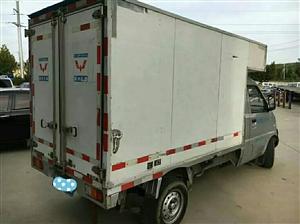 求购单排厢式小货车一台