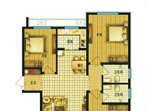米兰印象15层3室2厅2卫101.5万元可贷51万