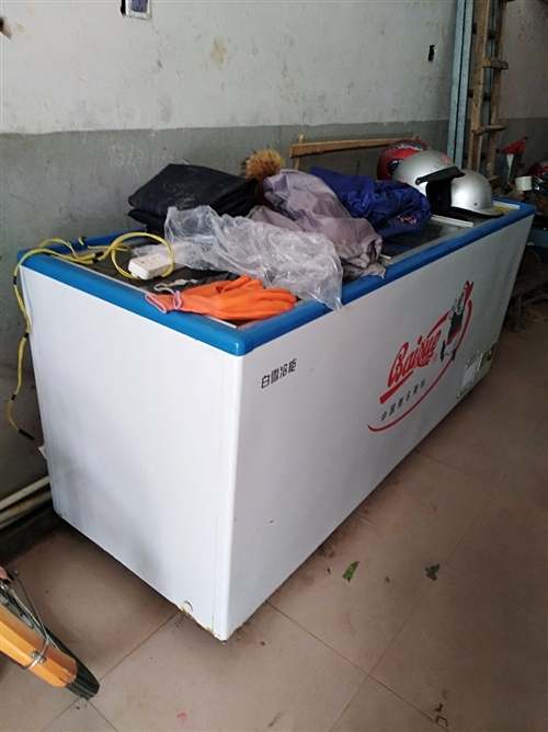 大型冰柜一个。