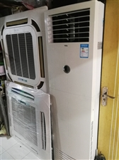 出售二手挂机空调,3匹柜机,3匹、5匹天井中央空调,展示柜;窗机空调出租。