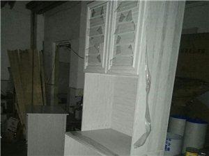 快完工的全鋁環保高柜