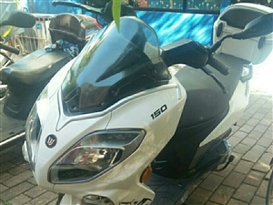 合江钱江摩托车踏板150两年二手车