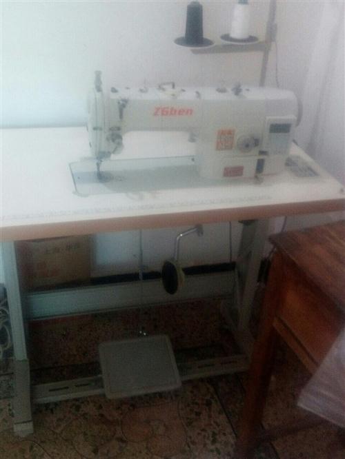 本人有一臺全新單本電腦縫紉機,聯系電話15879658153.因本人改行,機器一直閑著,機器是201...