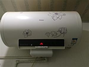 海尔防电墙热水器,大容量60L,液晶面板,可预约时间,很新,无任何问题,年前刚请海尔售后清洗过一次内...