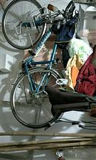 闲置 捷安特旅行车蓝绿色骑过两次。电话18092633090