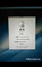 mac book 买下也没怎么用 一直闲置着 双系统 MAC和正版WIN7  送原装苹果鼠标 市场价...