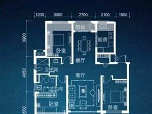 绿中海3室2厅2卫280万元