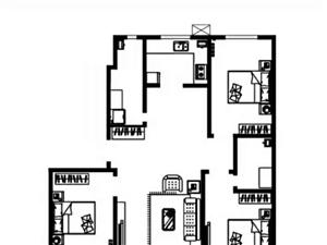 蓝波圣景回迁房4700一平,水暖,全款包更名,两居三居