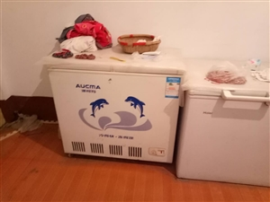 两台冰柜九成新用了半年维护良好电话15863431500