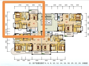 西岸悦湾3房54.1万元