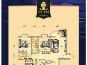 鸿星帝景湾3室2厅2卫55万元