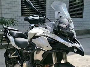 精品成色车况的贝纳利金鹏502拉力摩托车,带原装GIVI三箱,买到即是赚到