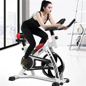 动感单车机超静音家用健身车,室内运动脚踏自行车减肥健身器,九五成新