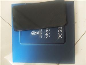 vivo手机x21  9.8成新6G+128G  (黑色)