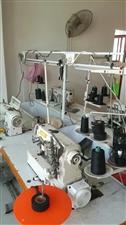 本厂有全新自动剪线四线机,平车2台,坎车。转让