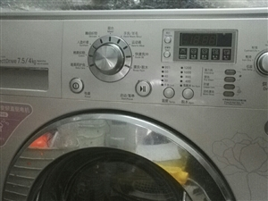 变频直驱烘干滚筒洗衣机,LG,DD变频8Kg,九成新,速卖,