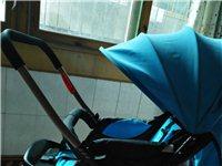 婴儿双向推车,大遮阳棚,九成新!带冬季脚套!买成258元!低价转让咯100元!