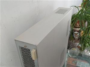 处理NEC台式电脑,小机箱占地方少,19显示器