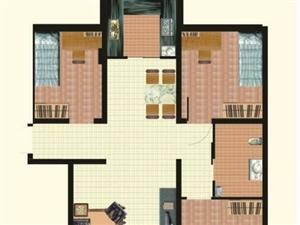 钥匙??西苑华庭3室2厅1卫115万元
