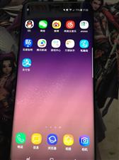 自用三星S8+出售,4+64G黑色,不到一年,99新,2100出售,有需要的联系!登封市区可看货。