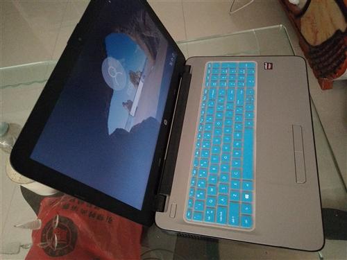 二手笔记本电脑用不到半年,惠普的,8成新,配置还可以,在开阳的可以见面交易