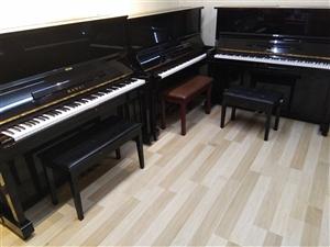 彬县老乡价格优惠! 雅马哈、卡哇伊、三益、英昌等一线品牌。长期库存钢琴200台以上,以全新钢琴销售...
