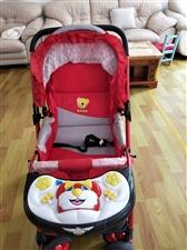 婴儿车9成新,因宝宝大了用不上,现低价出售100元