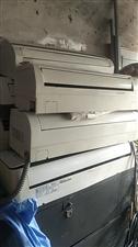 二手空调出售,1匹,1.5匹,各品牌空调,美的  三菱  海信。需要的联系  包安装。