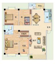 金海路3室2厅2卫147万元