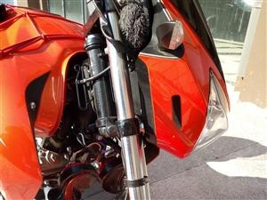 出售广东大冶150平衡轴摩托车,前后碟刹,液晶显示器,17升油箱,130正新后轮,新车2018/4/...