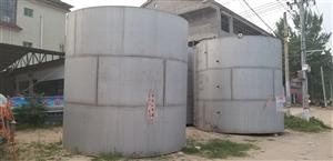 9成新 304不锈钢水罐 45吨2个,75吨3个