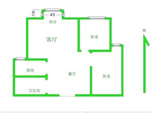 丽水二期 铁路楼2室2厅1卫40万元
