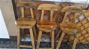 实木吧台椅原价90,处理价40