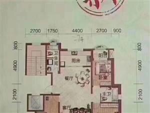 洋溪花林2楼154平,可按揭!室2厅2卫125万元
