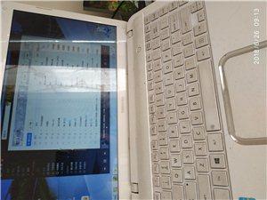 本笔记本电脑是东芝的,纯白色外观,大方素净,七成新,平时保养使用都比较注意,15年3600购入。支持...