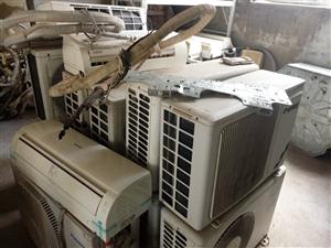 潢川明达专业,空调维修加氟回收出售二手空调
