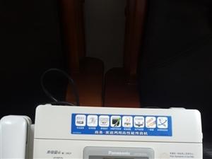 日本松下传真机,六成新,售两佰元。