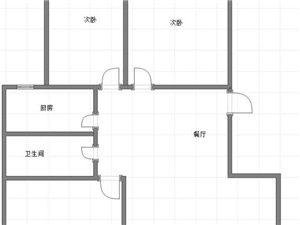 缔景城3室2厅1卫带车库带储物间75万元